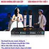 Bán Mua Gia Micro Shure Ugx9 Con Đắt Hơn Sản Phẩm Cao Cấp Nay Micro Khong Day Cao Cấp Super Pro Uk99 Hat Hay Mic Cầm Chắc Tay Chống Hu Bh Uy Tin 1 Đổi 1 Việt Nam Store Trong Hà Nội
