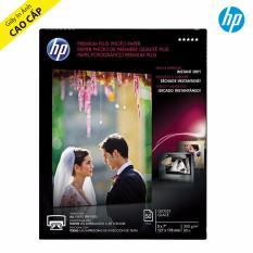 Giấy In Ảnh HP Premium Plus Glossy 13x18cm 300g 50 Tờ - Hàng Nhập Khẩu