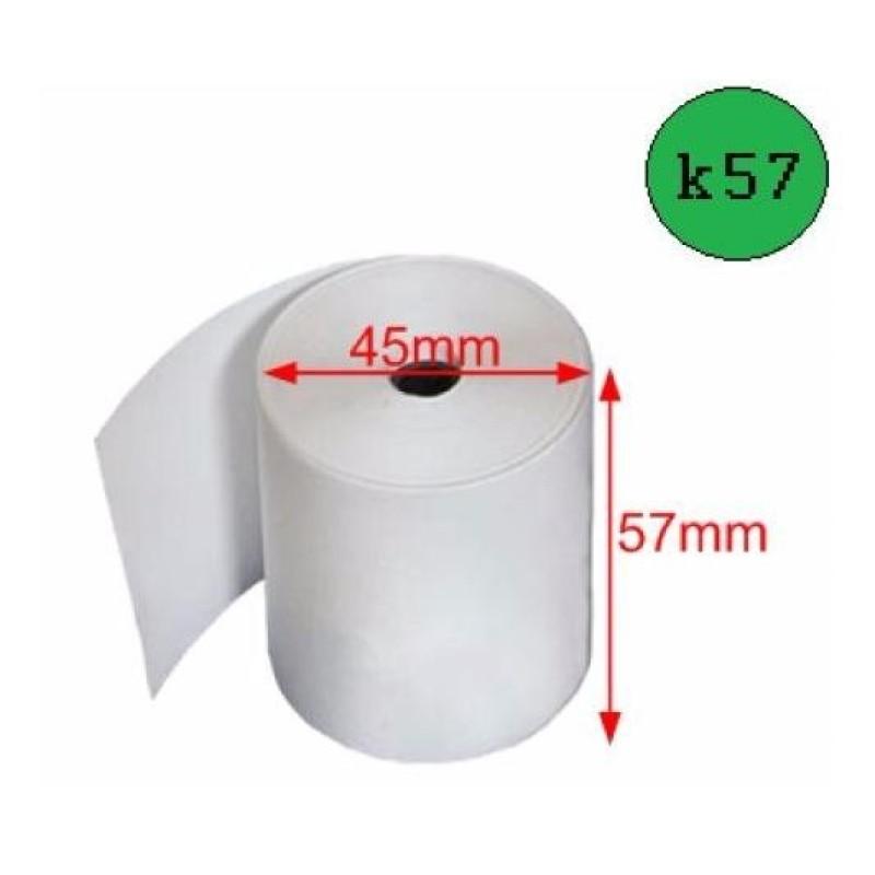 1 Thùng Giấy in hóa đơn nhiệt K57 (100 cuộn)