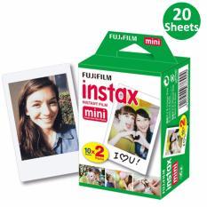 Bán Giấy In Ảnh Cho May Ảnh Fujifilm Instax Mini 20 Film Rẻ Nhất