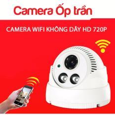 Bán Camera Ip Yoosee Ốp Trần Quan Sat Ngay Đem X8200 Co Hồng Ngoại Detek Có Thương Hiệu