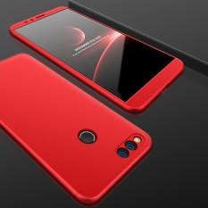 Bán Gkk Huawei Honor 7X Pc Ba Đoạn Shield 360 Độ Full Độ Che Phủ Bảo Vệ Mặt Sau Đỏ Quốc Tế Rẻ