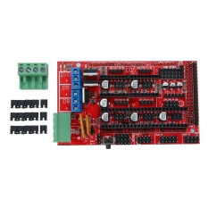 Hình ảnh goges Robotale RAMPS 1.4 Reprap MendelPrusa 3D Printer Control Board - Red + Black ARD0007 - intl