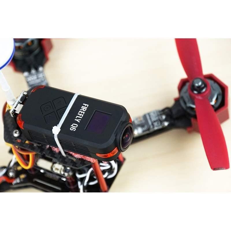 Đại 1 Cái 4 K Camera Hành Động Hd 12Mp 5 V 1A Tích Hợp Loa Cho Hawkeye Đom Đóm Q6-Quốc Tế