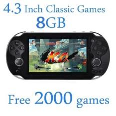 Hình ảnh GreatEle 8 gb Video Máy Chơi Game Giá Rẻ 2000 Trò Chơi 4.3 inch MP4 MP5 Người Chơi Máy Chơi Game Cầm Tay-quốc tế
