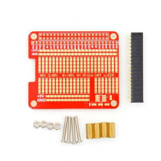 Giá Bán Hat Hole Plate Prototyping Board Diy Kit For Raspberry Pi 2 Compatible A Intl Intl Rẻ Nhất