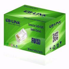 Hình ảnh Hạt mạng LB-LINK Cat5e RJ45 FU(S) (100 hạt \ hộp)