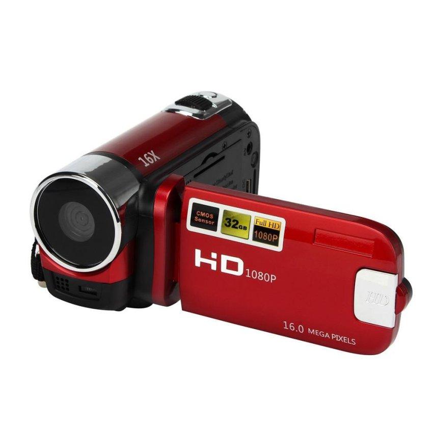 Hd 1080 P 16 M 16X Zoom Kỹ Thuật Số Máy Video Dv-Đỏ-Quốc Tế