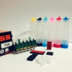 Ôn Tập Hệ Thống Dẫn Mực Lien Tục Trắng Epson T50 Chip Hà Nội