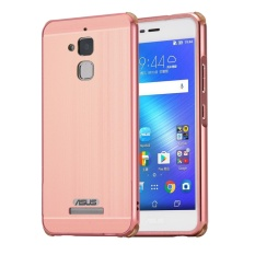 Mua Hicase 2 In 1 Detachable Brushed Pc Hard Back Luxury Aluminum Metal Mirror Case For Asus Zenfone 3 Max Zc520Tl Pink Intl Trực Tuyến Bình Dương