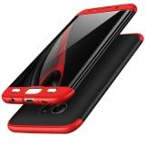 Ôn Tập Hicase 360 Độ Toan Năng Sieu Mỏng Toan Than Che Phủ Bảo Vệ 2 Lớp Cứng Ốp Lưng Sieu Mỏng Cho Samsung S7 Edge Mau Đỏ Đen Quốc Tế Trung Quốc