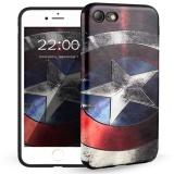 Bán Hicase Sang Tạo Hoa Văn Chống Xước Mềm Tpu Ốp Lưng Iphone 7 4 7 Đội Trưởng Mỹ Quốc Tế Hicase