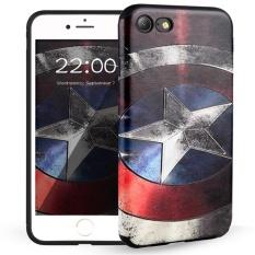 Bán Hicase Sang Tạo Hoa Văn Chống Xước Mềm Tpu Ốp Lưng Iphone 7 4 7 Đội Trưởng Mỹ Quốc Tế Có Thương Hiệu Rẻ