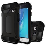 Bán Mua Hicase Dual Layer Armor Shell Hard Back Cover For Samsung Galaxy J1 Mini Black Intl