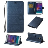 Mua Hicase Da Dập Nổi With Khoa Bao Da Ốp Lưng Cho Samsung Galaxy Note 4 Xanh Hải Quan Quốc Tế Mới Nhất