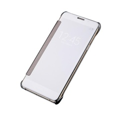 Mua Hicase Mirror Smart Clear View Window Flip Case Cover For Samsung Galaxy Note 5 Silver Intl Rẻ Trung Quốc