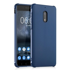 Hicase Silicone Gel Tpu Bumper Air Cushion Protective Case Cover For Nokia 6 Navy Blue Intl Rẻ