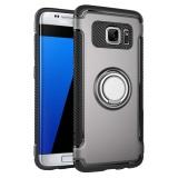 Bán Hicase Slim Fit 2 Lớp Lai Ao Giap Nhẫn Gia Đỡ Chan Đế Chống Sốc Thấm Hut Va Chống Trầy Xước Ốp Lưng Danh Cho Samsung Galaxy Samsung Galaxy S7 Edge Mau Xam Quốc Tế Rẻ Trung Quốc