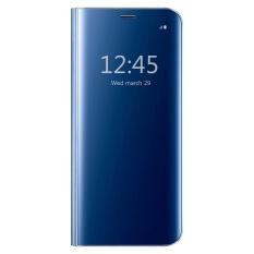 Giá Bán Hicase View Flip Cover Co Chan Đế Ốp Lưng Danh Cho Samsung Galaxy Samsung Galaxy S7 Edge Mau Xanh Dương Quốc Tế Trực Tuyến Trung Quốc