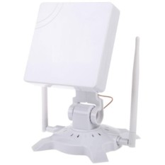 Hình ảnh Cao cấp Tín Hiệu Vua 48DBI USB Không Dây Bộ Điều Hợp Ăng Ten 150 Mbps 802.11B/G 2.4 gam (Trắng) -quốc tế