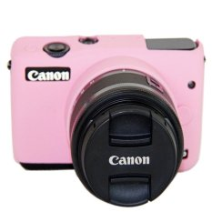 Hình ảnh High Quality Silicone Camera Case Bag Cover for Canon EOS M10 eosm10 Camera (Pink) - intl