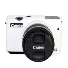 Hình ảnh High Quality Silicone Camera Case Bag Cover for Canon EOS M10 eosm10 Camera (White) - intl
