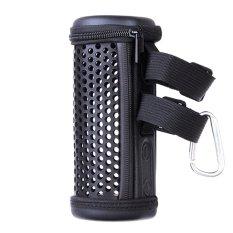 Túi NHỰA PVC bảo vệ có khóa and móc treo cho loa Bluetooth không dây JBL Flip 3 Đen-QT
