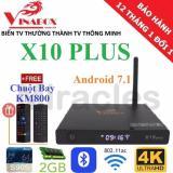 Giá Bán Hộp Android Tivi Box Vinabox X10 Plus Bluetooth 4 Android 7 1 Tặng Chuột Bay Km800 Trị Gia 390K Phan Phối Bởi Miracles Company