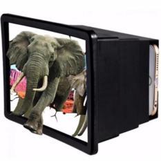 Hình ảnh Hộp kính 3D phóng to màn hình điện thoại Smartphone F2 đen