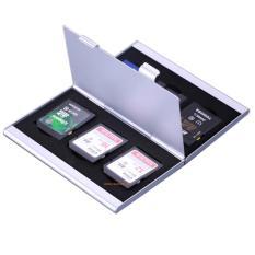Hình ảnh Hộp thiếc đựng thẻ nhớ chống sock 3 thẻ SD và 2 thẻ CF
