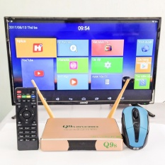 Hình ảnh Hộp Ti Vi Thông Minh Smart TV Android Box Q9S