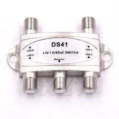 Hình ảnh Hot Mới Nhất 1 cái TRUYỀN HÌNH Miễn Phí DiSEqC Công Tắc 4x1 DiSEqC Công Tắc vệ tinh ăng ten phẳng LNB Switch cho TIVI đầu thu-quốc tế