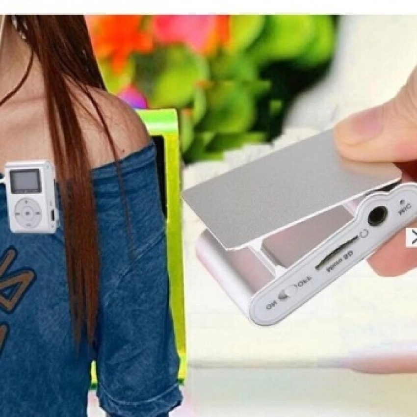 Hot Sale Mini Mp3 Player Clip Usb Fm Radio Lcd Screen Withtf/sdcard Slot .support For 32Gb Micro Tf/sd
