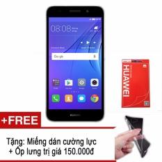 Chiết Khấu Huawei Y3 2017 Vang Xam Tặng Kem Miếng Dan Cường Lực Ốp Lưng