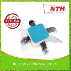 Hình ảnh HUB USB 4 CỔNG SSK SHU 029