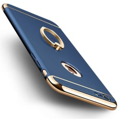 VND 176.400. I Tech 3 In 1 Ultra Slim Metal Hybrid Anti-skidding Hard Back Case Cover With Ring Kickstand For Applefor Iphone ...
