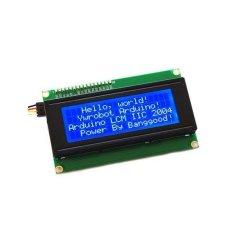 Hình ảnh IIC/I2C 2004 204 20x4 Nhân Vật MÀN HÌNH Hiển Thị LCD Module Xanh Dương-quốc tế