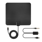 Mã Khuyến Mại Indoor Thin Flat Hdtv Tv Amplified Antenna 50 Miles Range With 4M Cable Intl Not Specified