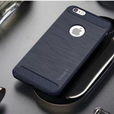 Mã Khuyến Mại Ốp Lưng Ipaky Chải Thả Chống Tpu Vỏ Danh Cho Iphone 6 S Plus 6 Plus Với Sợi Carbon Trang Tri Mau Xanh Đen Quốc Tế Trung Quốc