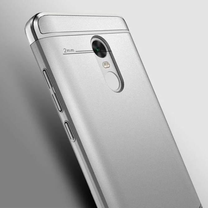 ỐP LƯNG IPAKY Kim Xi Mạ 3 Trong 1 Cứng Cho Xiaomi Redmi Note 4-