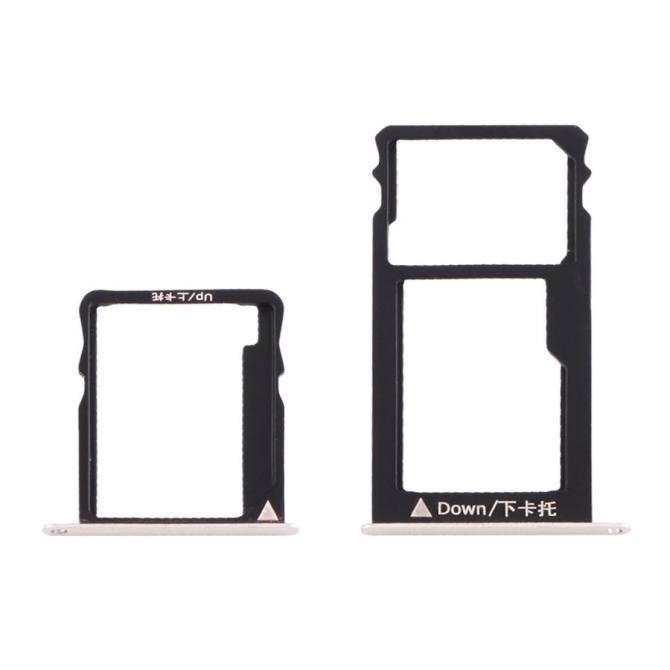 IPartsBuy Huawei Honor 5X Micro SIM Card Tray + Nano SIM and Micro .