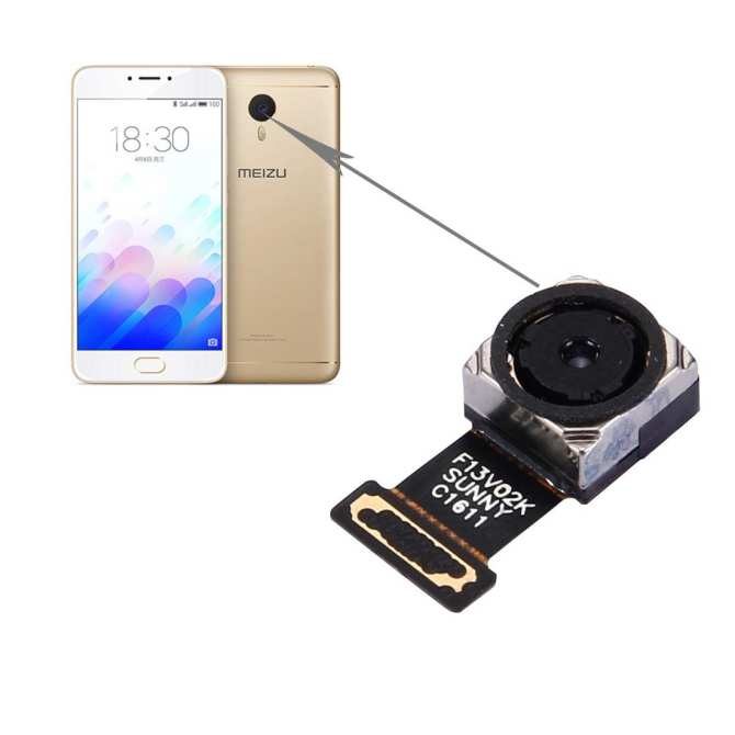 ... iPartsBuy Meizu M3 Note / Meilan Note 3 Rear Facing Camera - intl ...
