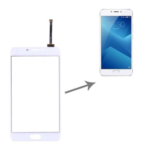 IPartsBuy Meizu M5 Note / Meilan Note 5 Touch Screen Digitizer Assembly(White) -