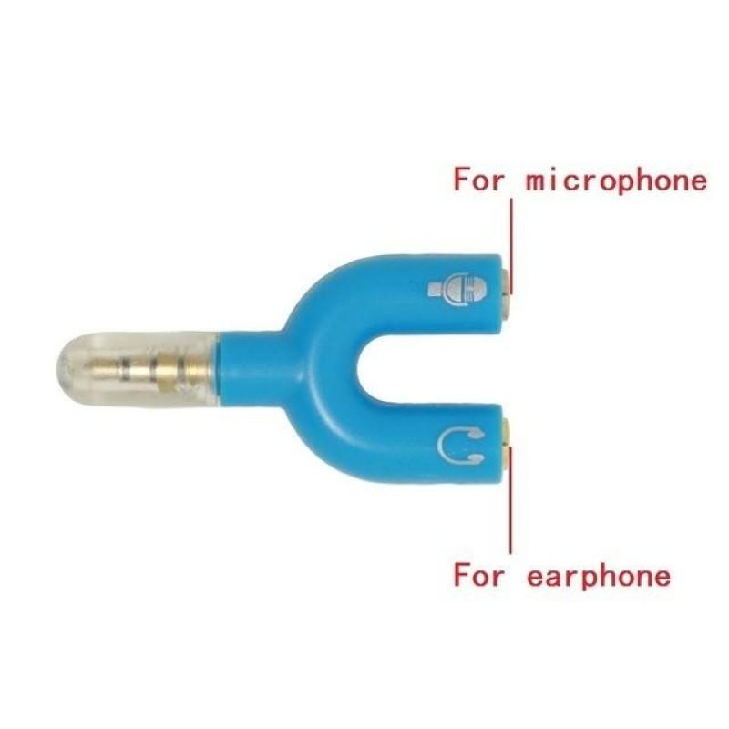 Bảng giá Jack Chia Audio 3.5mm Chung Ra MIC Và Headphone Riêng Biệt Phong Vũ
