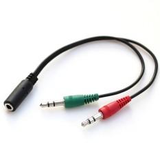 Jack gộp audio và mic 3.5mm  Jack gộp tai nghe 3.5