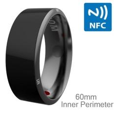 Hình ảnh JAKCOM R3 Metallic Glass Smart Ring, Waterproof and Dustproof, Health Tracker, Wireless Sharing, Inner Perimeter: 60mm - intl