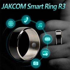 Hình ảnh Nhẫn thông minh công nghệ JAKCOM R3 NFC cho Android IOSWindows Phone 10 # Kích Thước (màu đen)-quốc tế