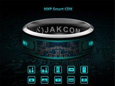 Hình ảnh JAKCOM R3 Công Nghệ NFC Ma Thuật Thông Minh Nhẫn Đen cho Android IOS Windows Điện Thoại 11 # Kích Thước-quốc tế