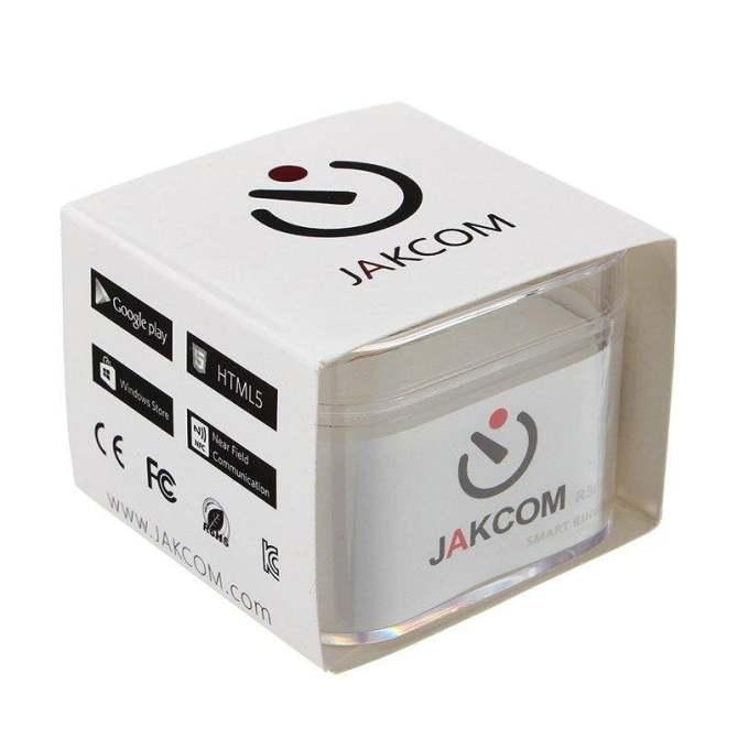 Jakcom R3 Waterproof Smart Ring App Enabled Wearable Technology For
