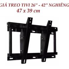 Kệ tivi treo tường nghiêng từ 26' đến 42' tiện dụng
